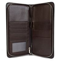 Large Zippered Wallet & Passport Holder - Avallone Luxury - Dealsie.com Love the Deals