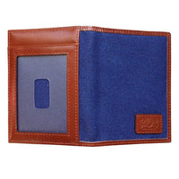 Front Pocket Wallet With RFID Protection - Avallone Canvas & Leather - Dealsie.com