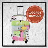 LARGE Spinner Luggage - Choose Your Cover Design - Dealsie.com