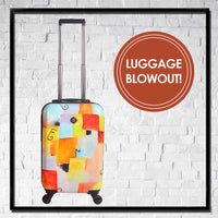 MEDIUM Spinner Luggage - Choose Your Cover Design - Dealsie.com Love the Deals