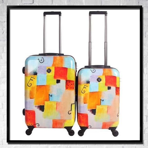 2 PIECE SETS Spinner Luggage - Choose Your Cover Design - Dealsie.com