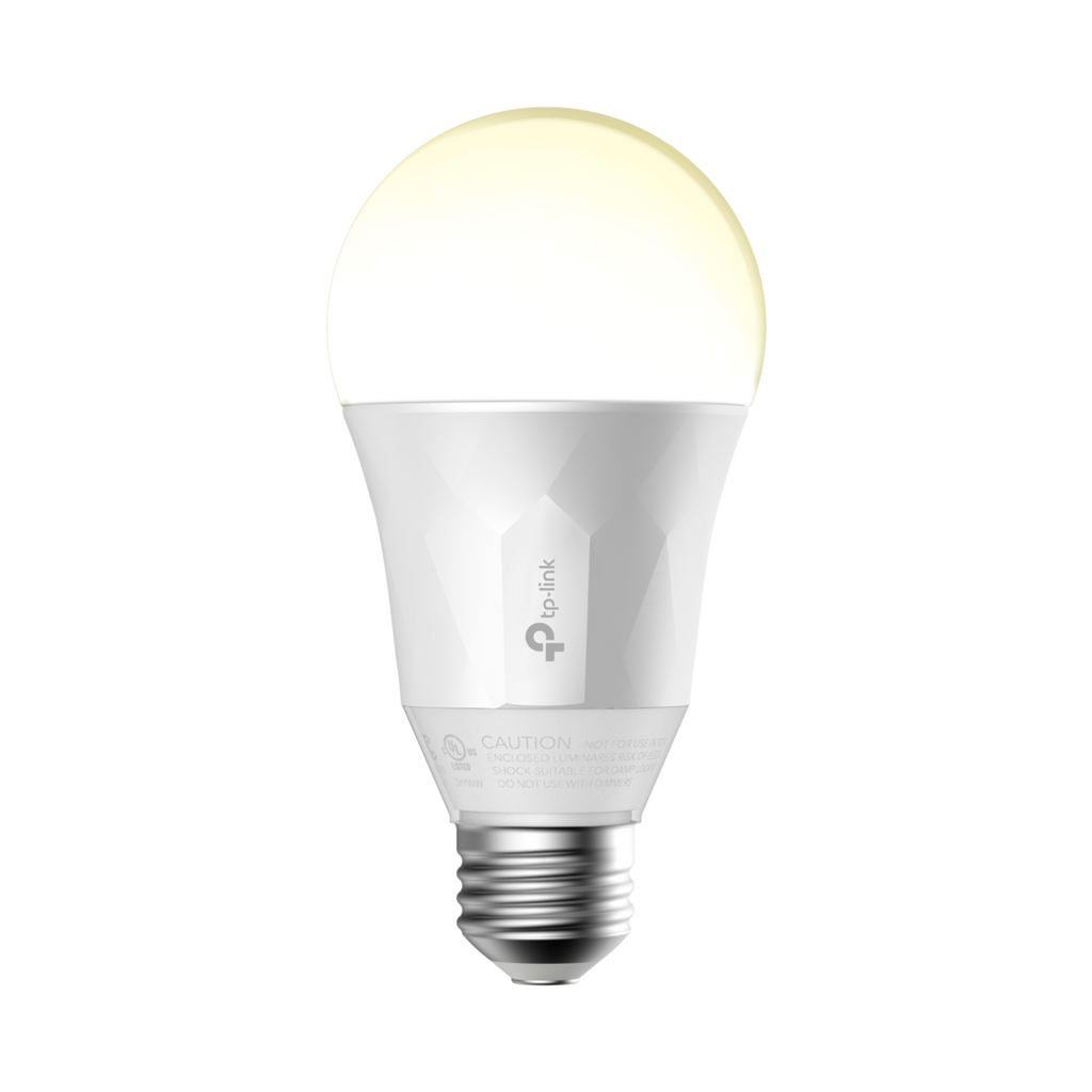TP-Link Kasa Smart Wi-Fi- LED Light Bulb (LB100) - Soft White, Dimmable, A19, 50 Watt Equivalent