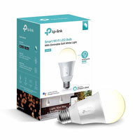 TP-Link Kasa Smart Light Bulb (LB110) 2 Pack- Soft White, Dimmable, A19, 60 Watt Equivalent - Dealsie.com Love the Deals