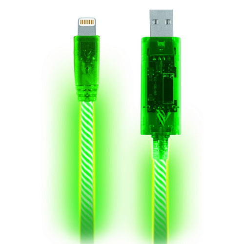 Light Pulse LED Lightning Cable For Apple Devices - Buy One Get One Free! - Dealsie.com