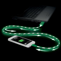 Light Pulse LED Lightning Cable For Apple Devices - Buy One Get One Free! - Dealsie.com Love the Deals