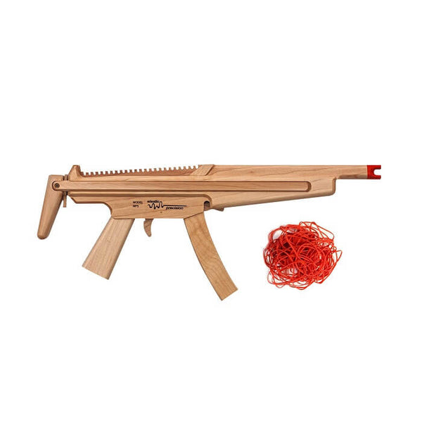 Elastic Precision Model MP5 Rubber Band Gun with Adjustable Stock - Dealsie.com Love the Deals