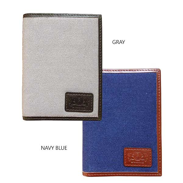 Front Pocket Wallet With RFID Protection - Avallone Canvas & Leather - Dealsie.com Love the Deals