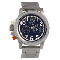 Movado ESQ 07301424 Men's Fusion Round Multi-Eye Stainless Steel Watch - Dealsie.com