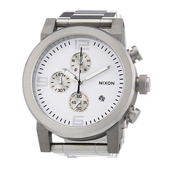 NIXON<br/>The Ride CHRONO White - Dealsie.com Love the Deals