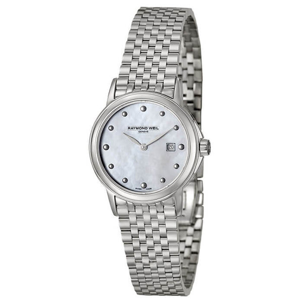 Raymond Weil 5966-ST-97001 Women's Tradition Stainless Steel Mother-Of-Pearl Dial Watch - Dealsie.com Love the Deals
