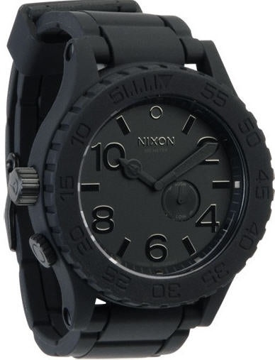 Nixon A236000 Men's Rubber 51-30 Watch Black