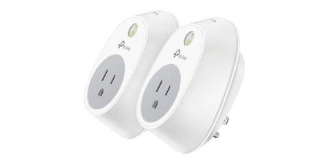 TP-Link Wi-Fi Smart Plug, No Hub Required, Works with Alexa Echo & Google Assistant, (HS100)- BOGO
