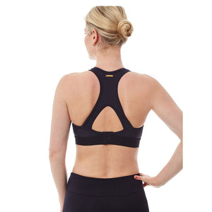 SPORTS BRA (BLACK/ ISSEY)