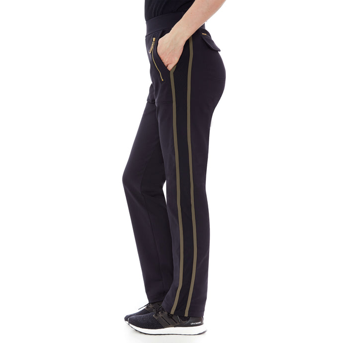 GOLF TROUSERS (BLACK/ BEE/ GREEN)
