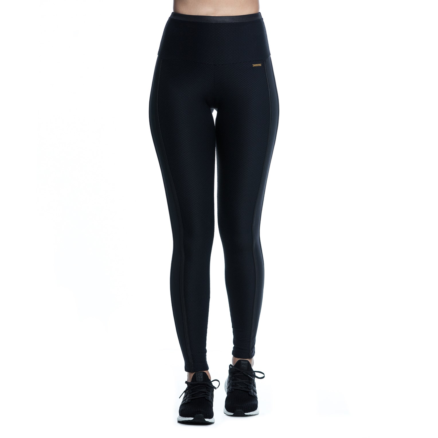 KATE LEGGINGS (BLACK/ BEE)