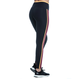 KATE LEGGINGS (BLACK/ PEACH/ BORDEAUX)