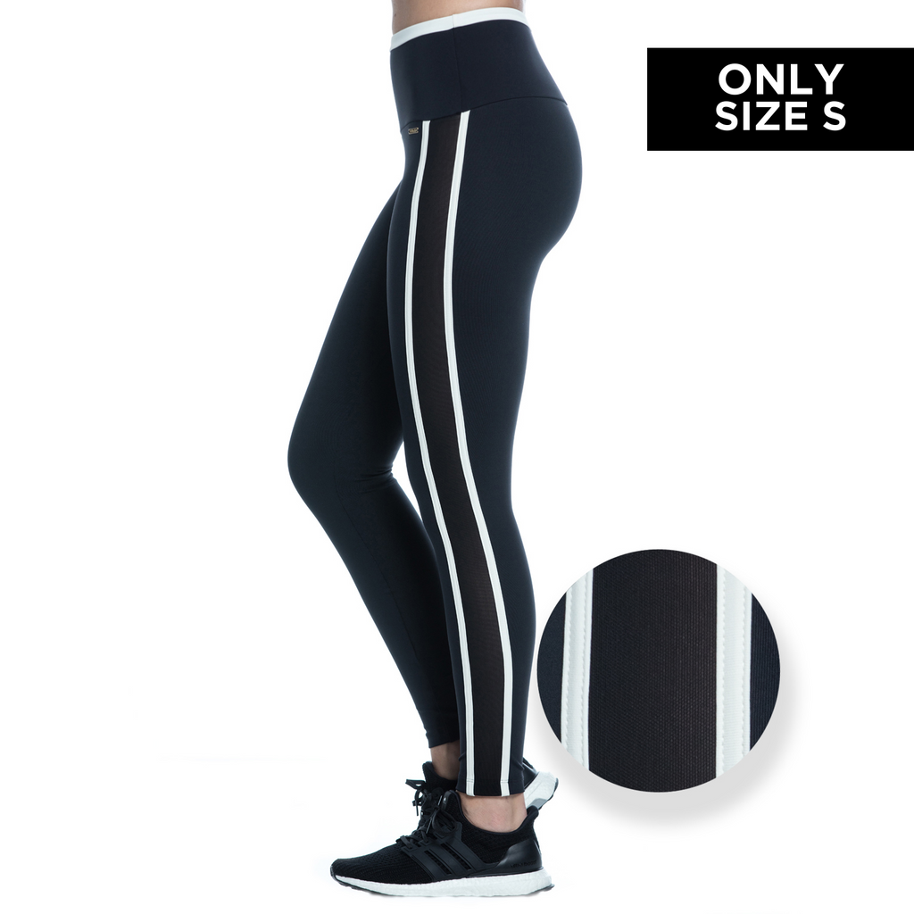 KATE LEGGINGS (BLACK/ OFFWHITE)