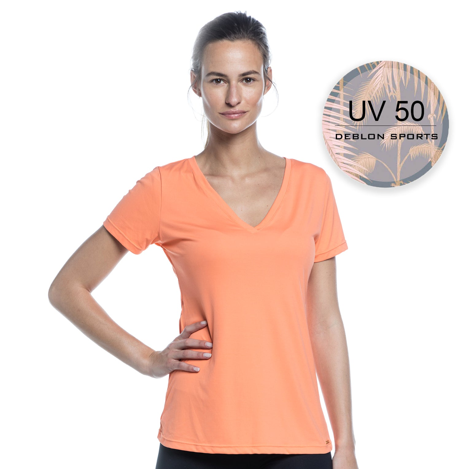 ZACH T-SHIRT | UV 50 (PEACH)