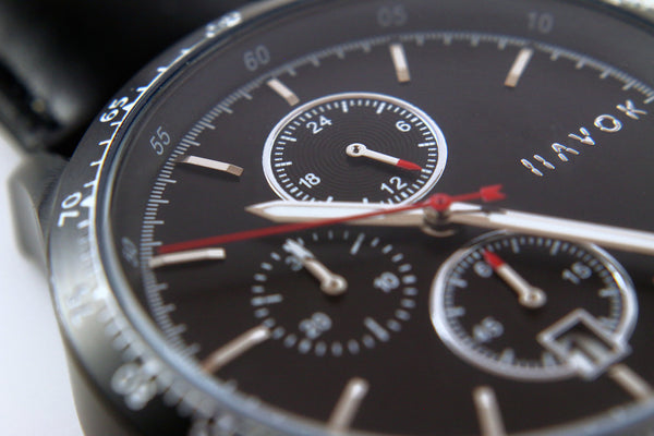 Diamond Black Racer Chronograph