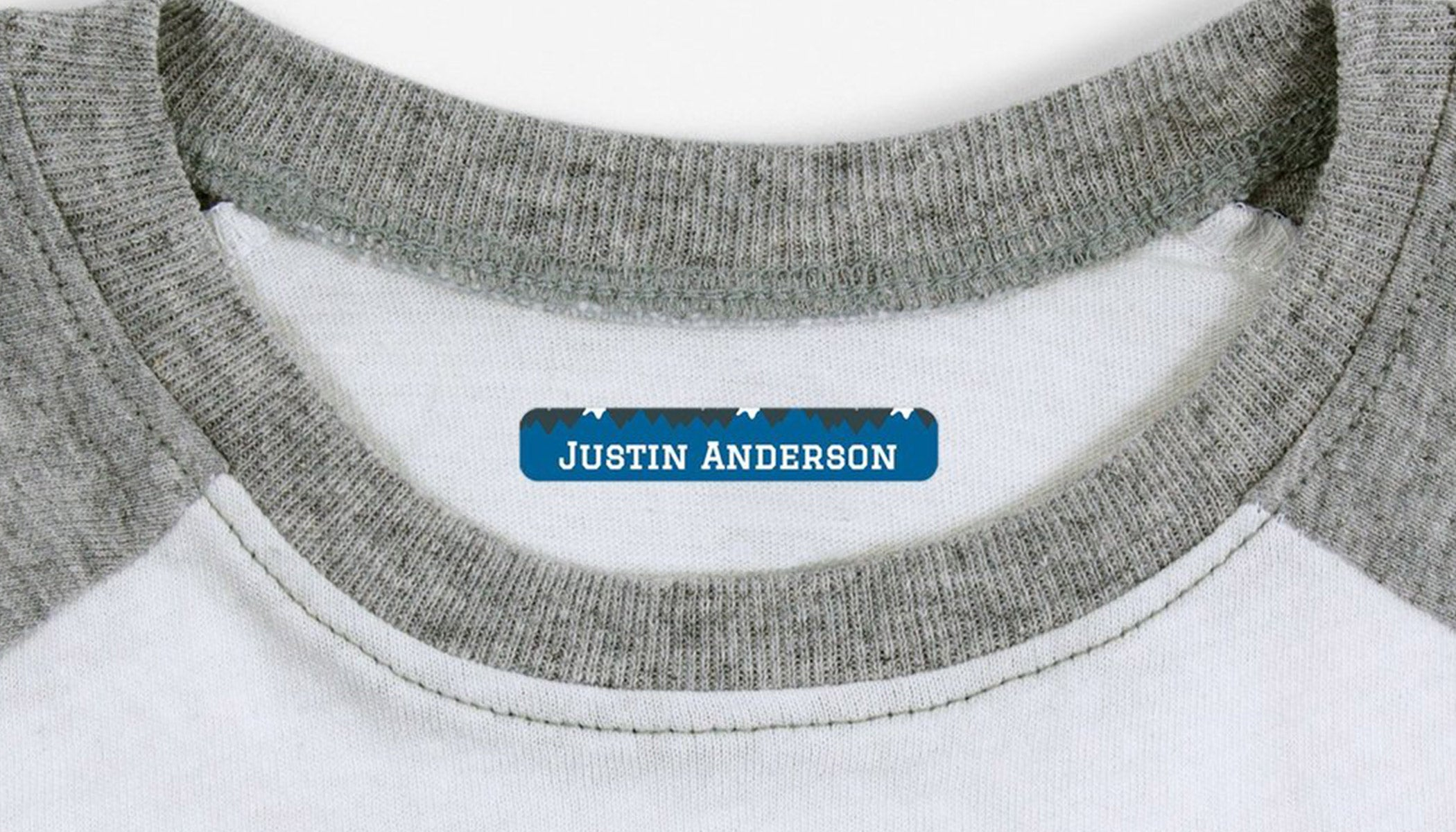 How to apply personalized Iron-On Labels with name Bubbles.