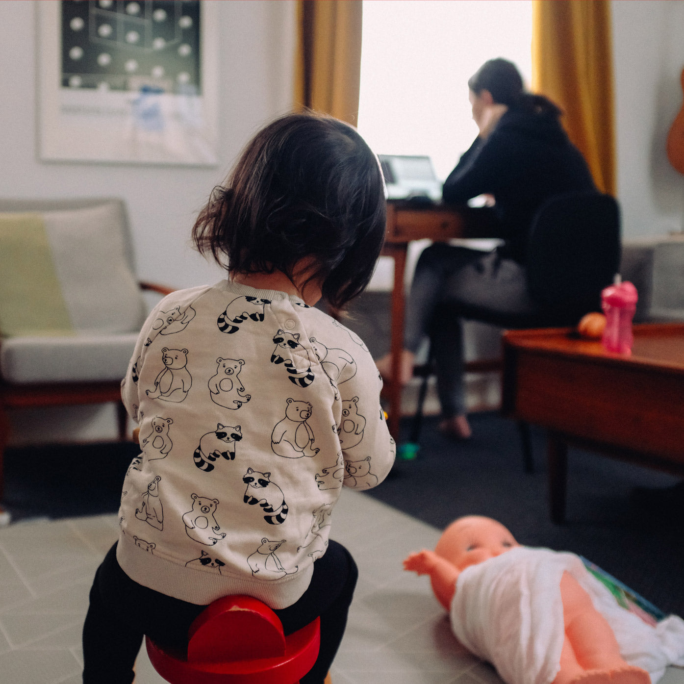 Name Bubbles tips for parents working from home during the summer break.