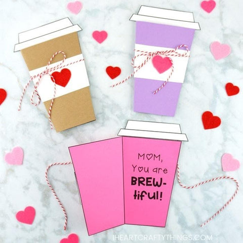 A Coffee Card – I Heart Crafty Things