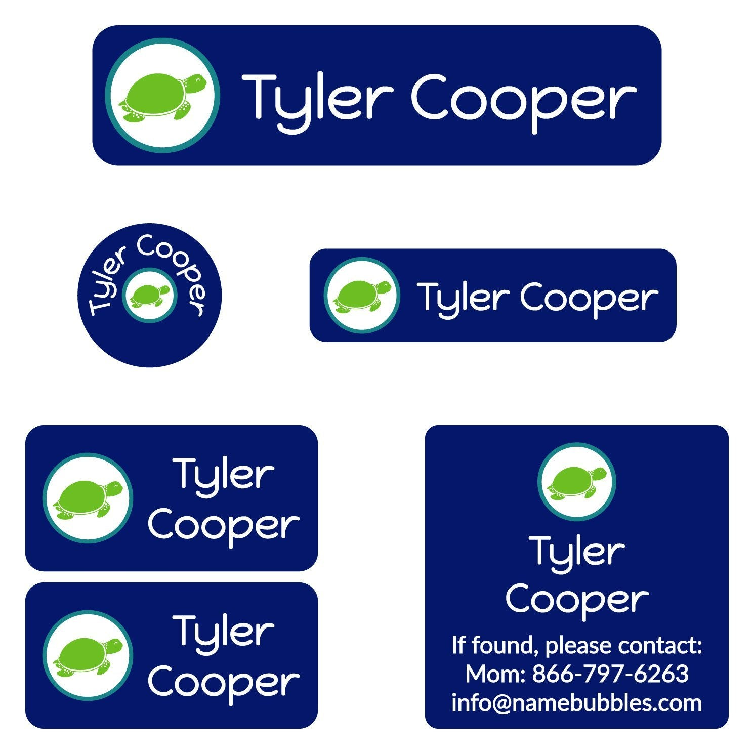 personalized camp labels