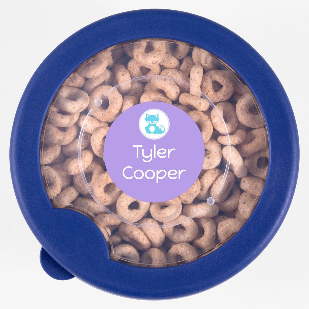 personalized kids labels - Salt Water Taffy / Circle