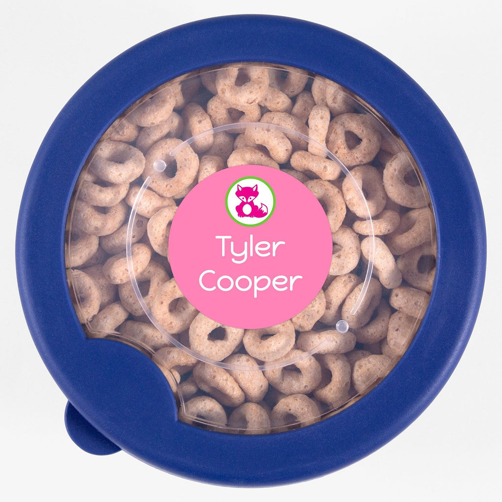 personalized kids labels - Sweet Treats / Circle