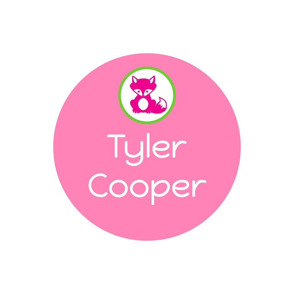 personalized kids name stickers