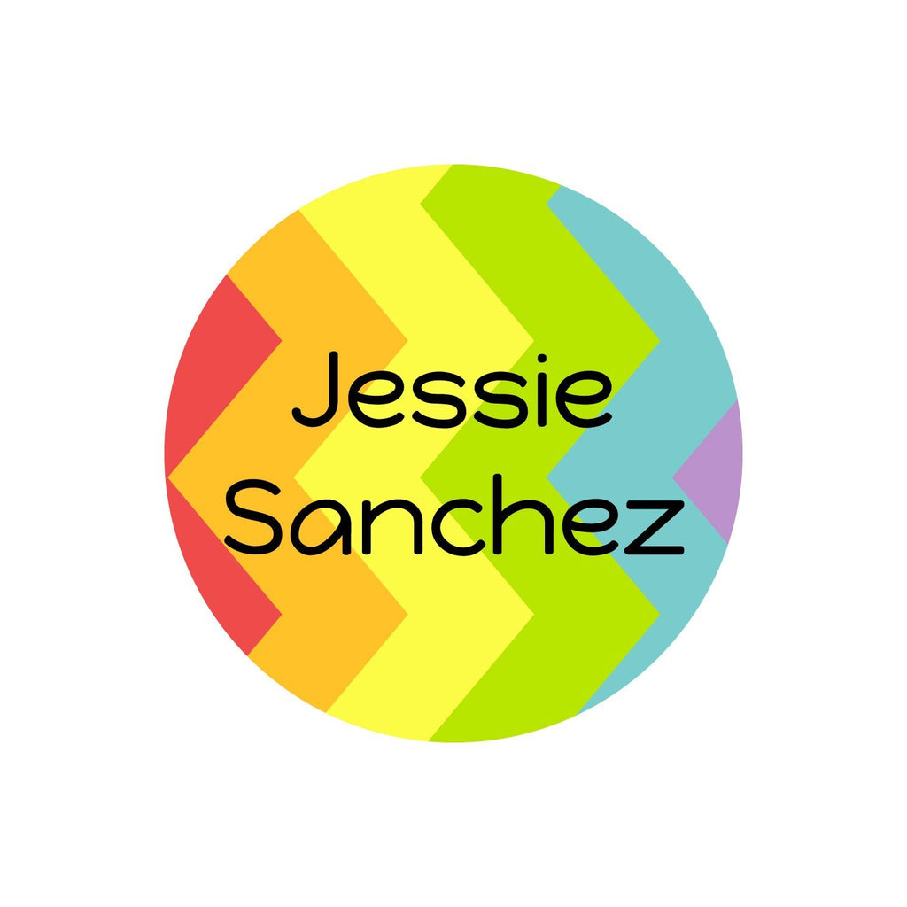 rainbow dishwasher safe name labels