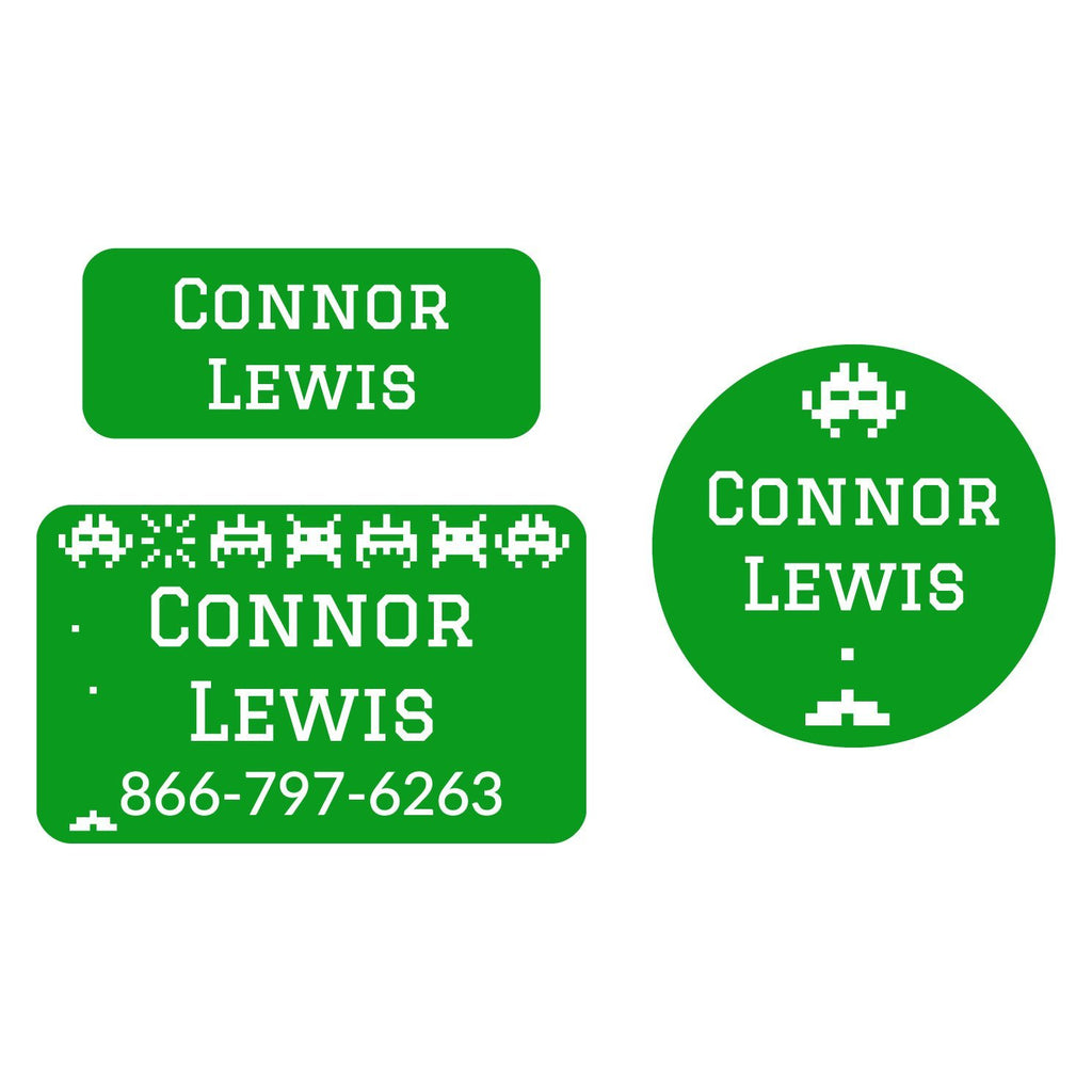 personalized name stickers for school