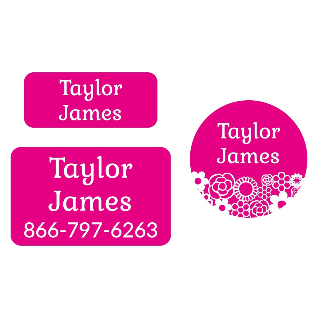 flower clothing labels