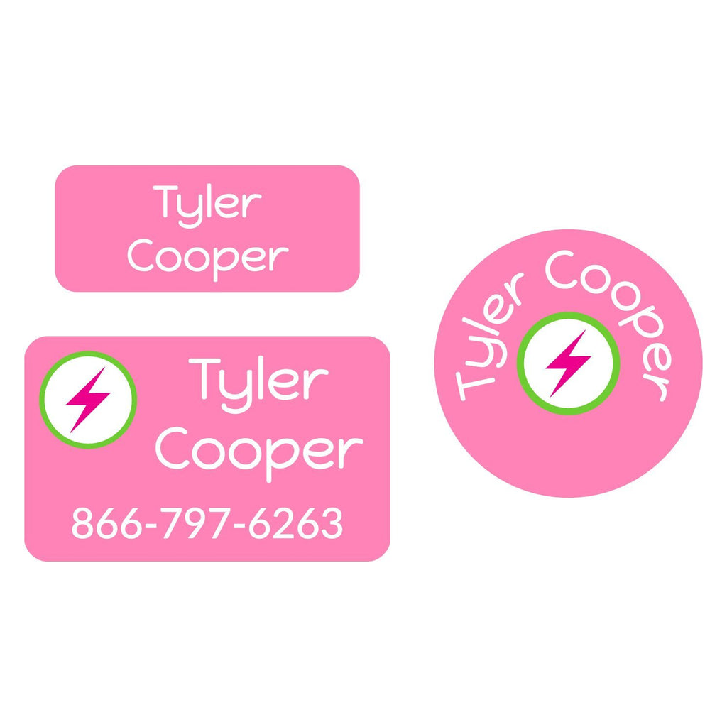 personalized clothing labels for kids