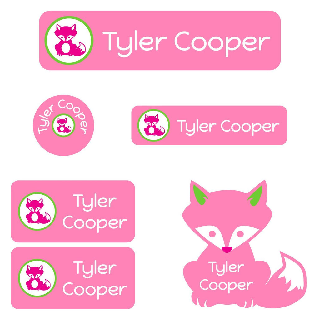 personalized daycare labels