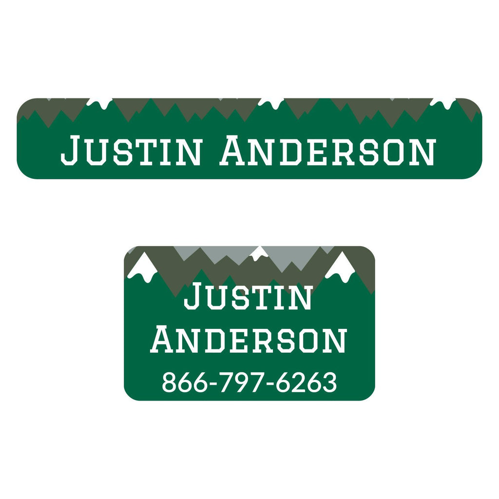 name tag iron-on labels