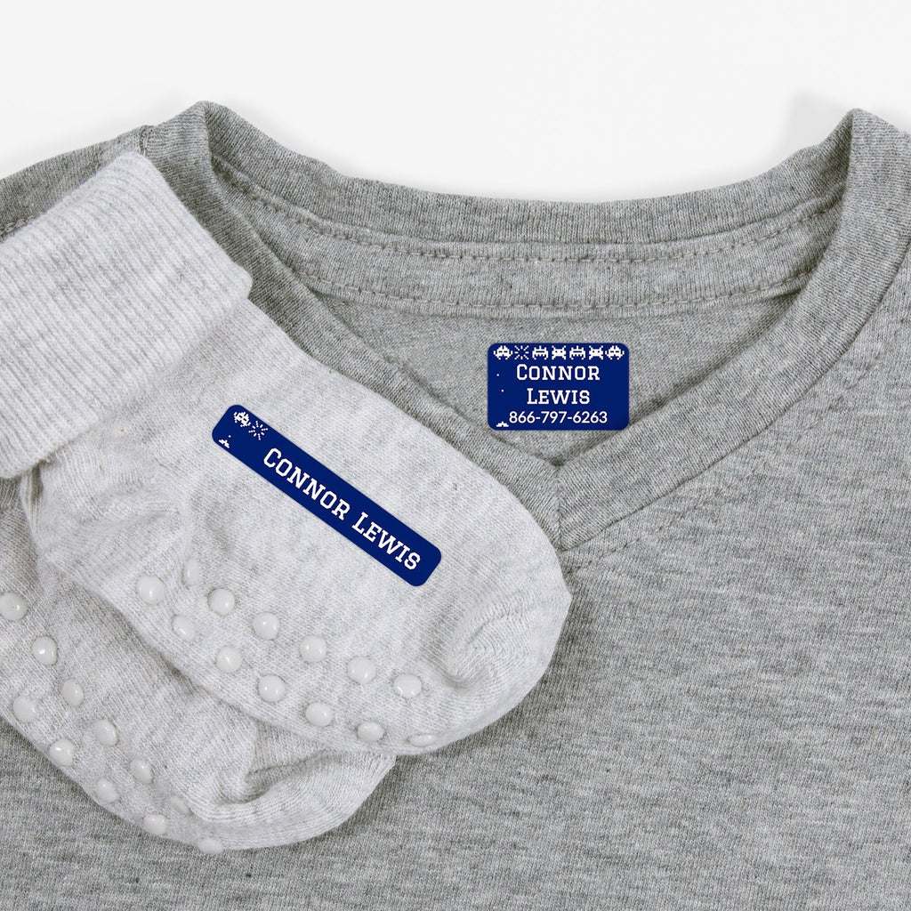 laundry safe kids labels - Indigo