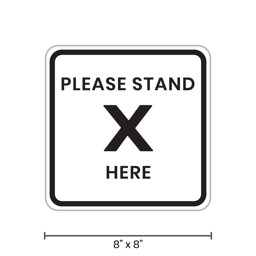 Please Stand Here