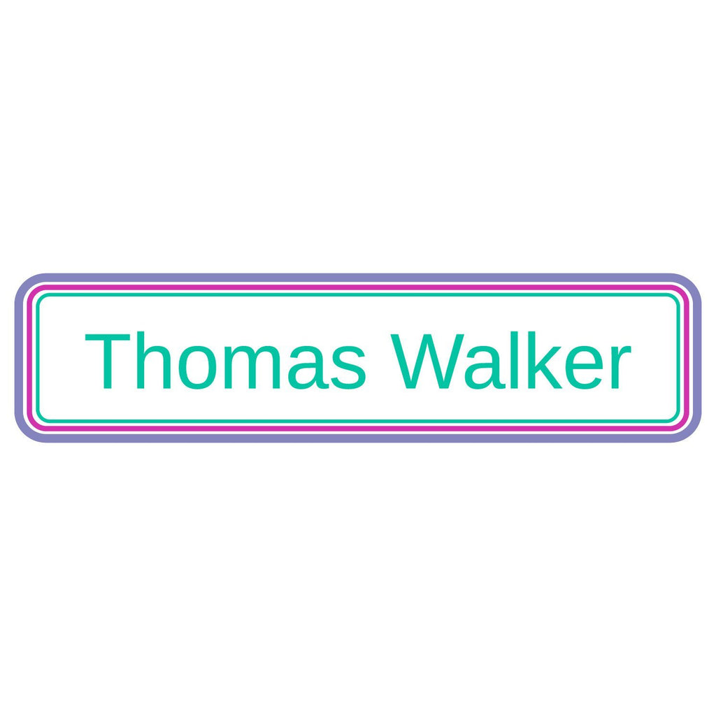 personalized daycare name stickers
