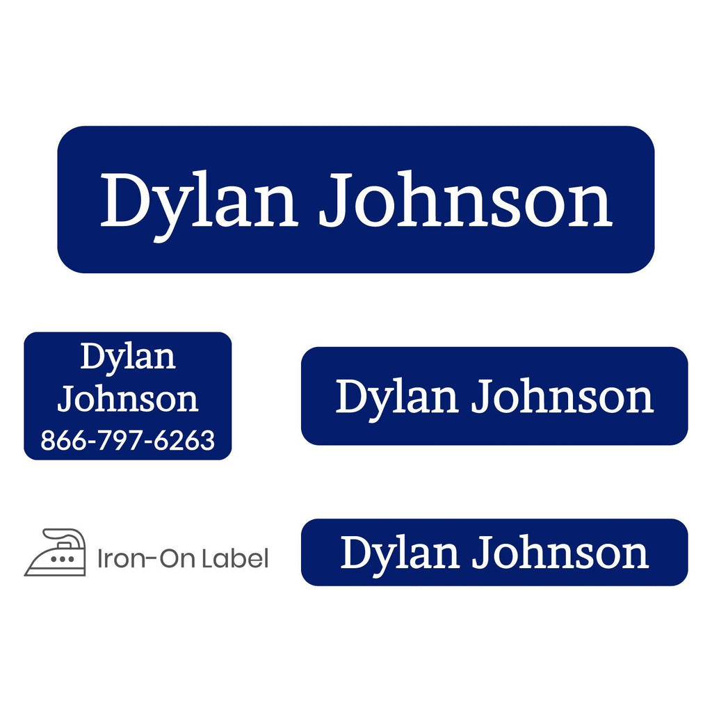 custom name labels for assisted living