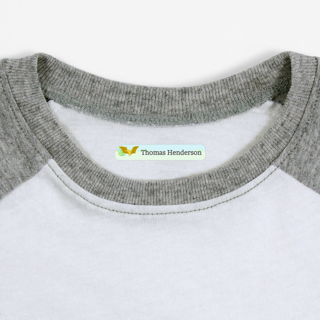 clothing labels for children - Slim Rectangle