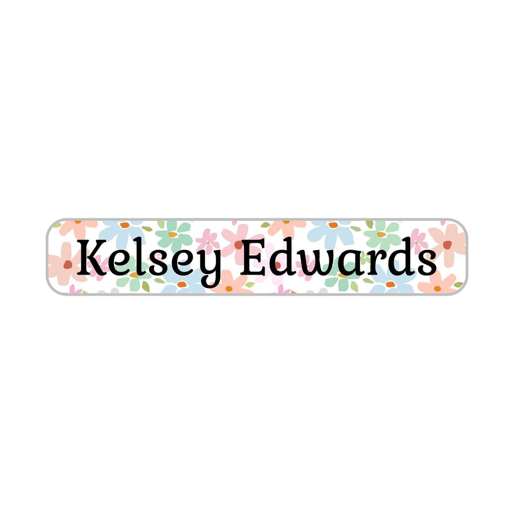 kids iron on name labels