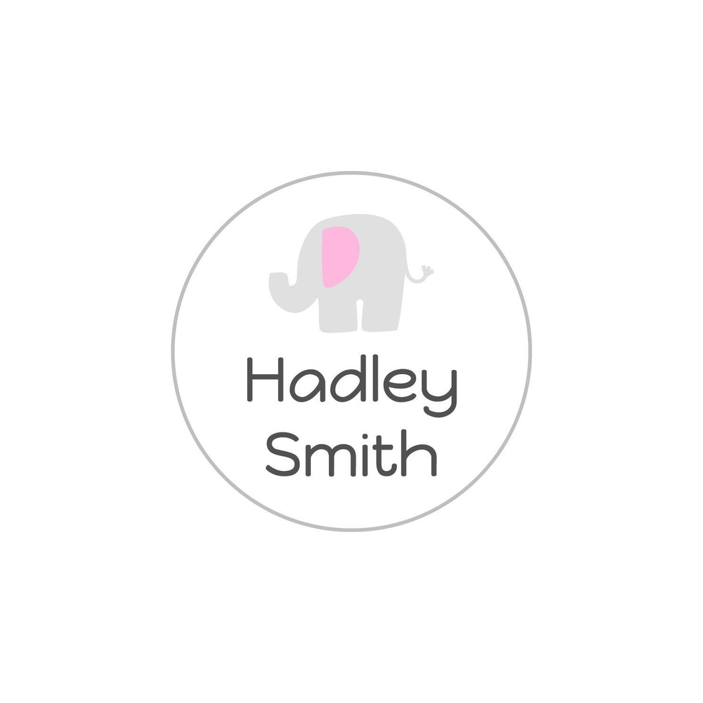 baby clothes name tags