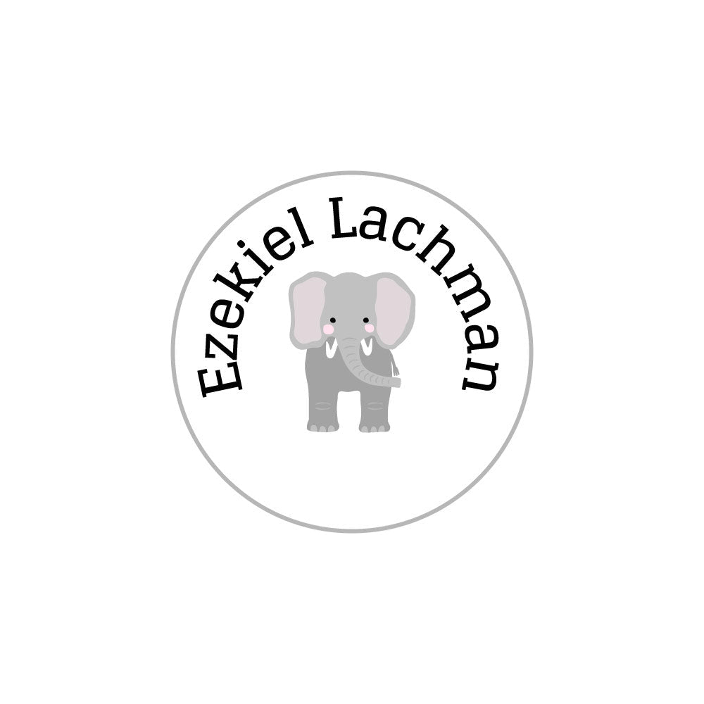 zoo animal name labels