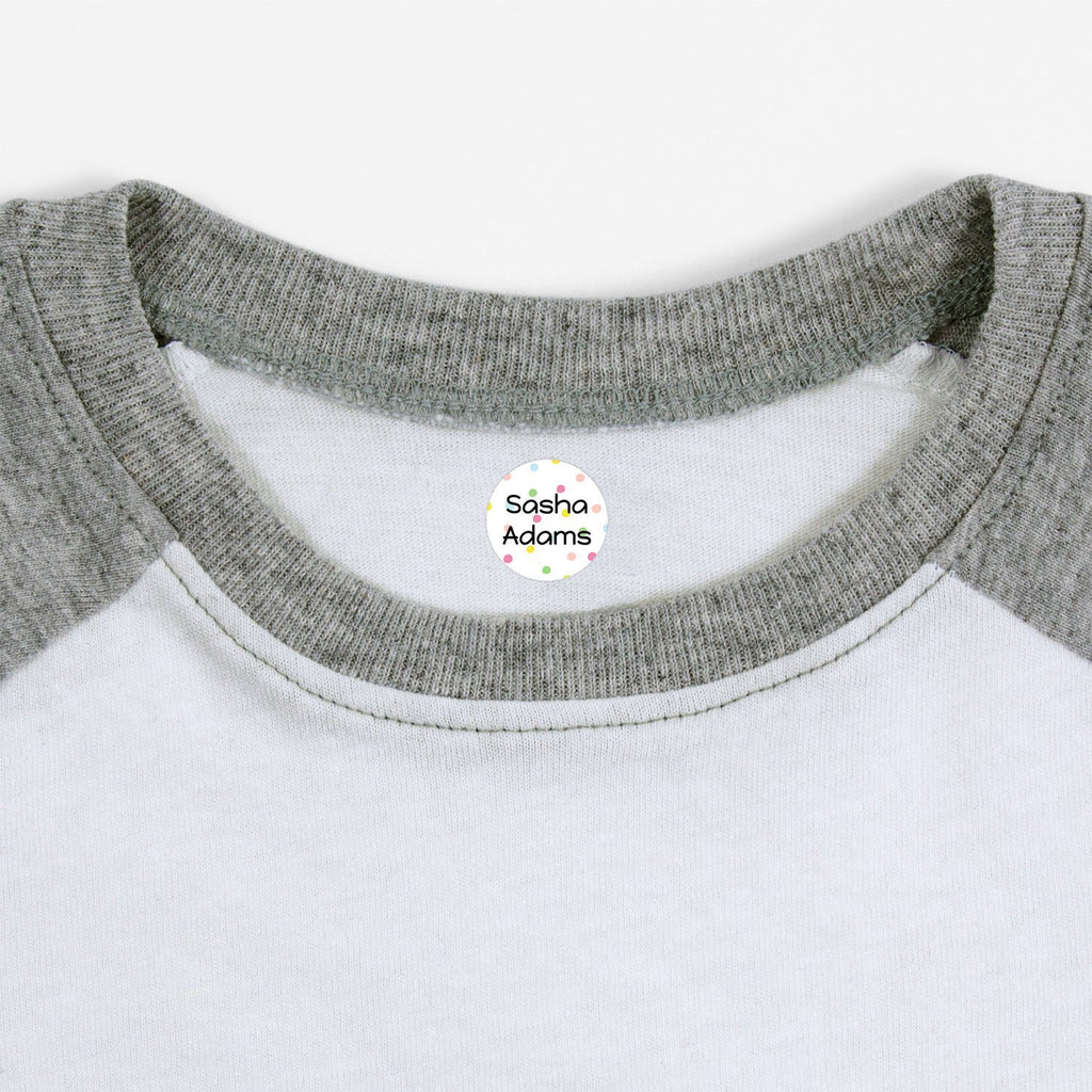kids labels for clothing - Circle
