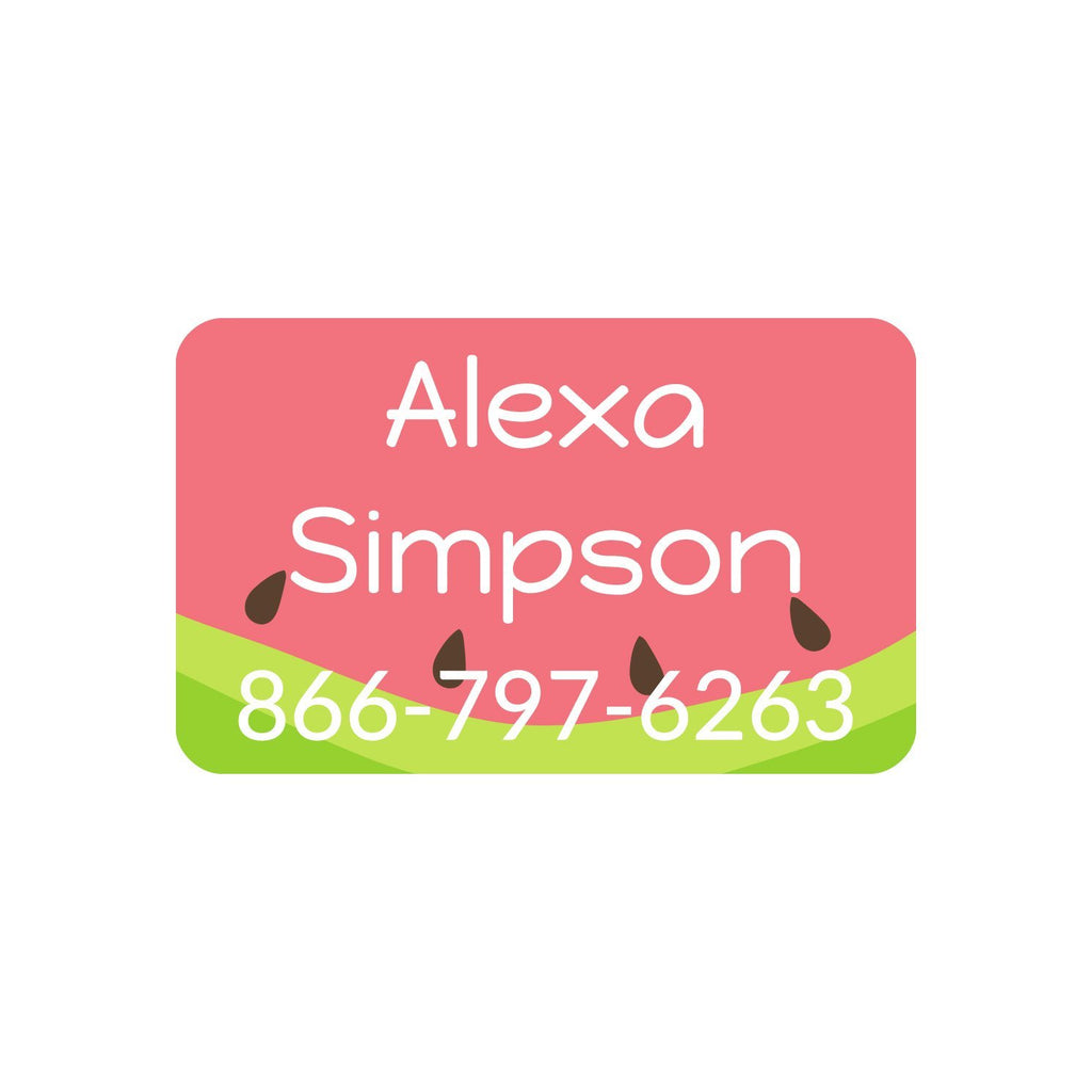 custom name labels for clothing