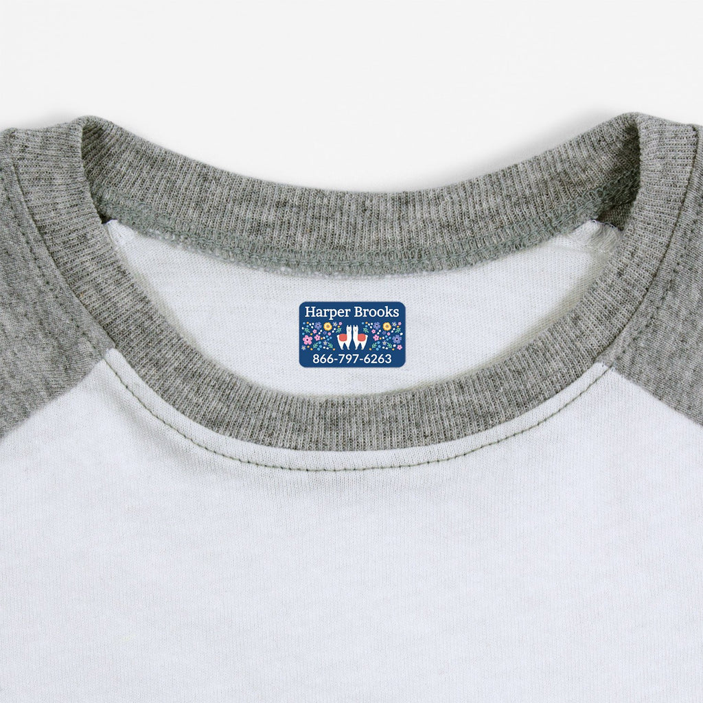 kids labels for clothing - Rectangle