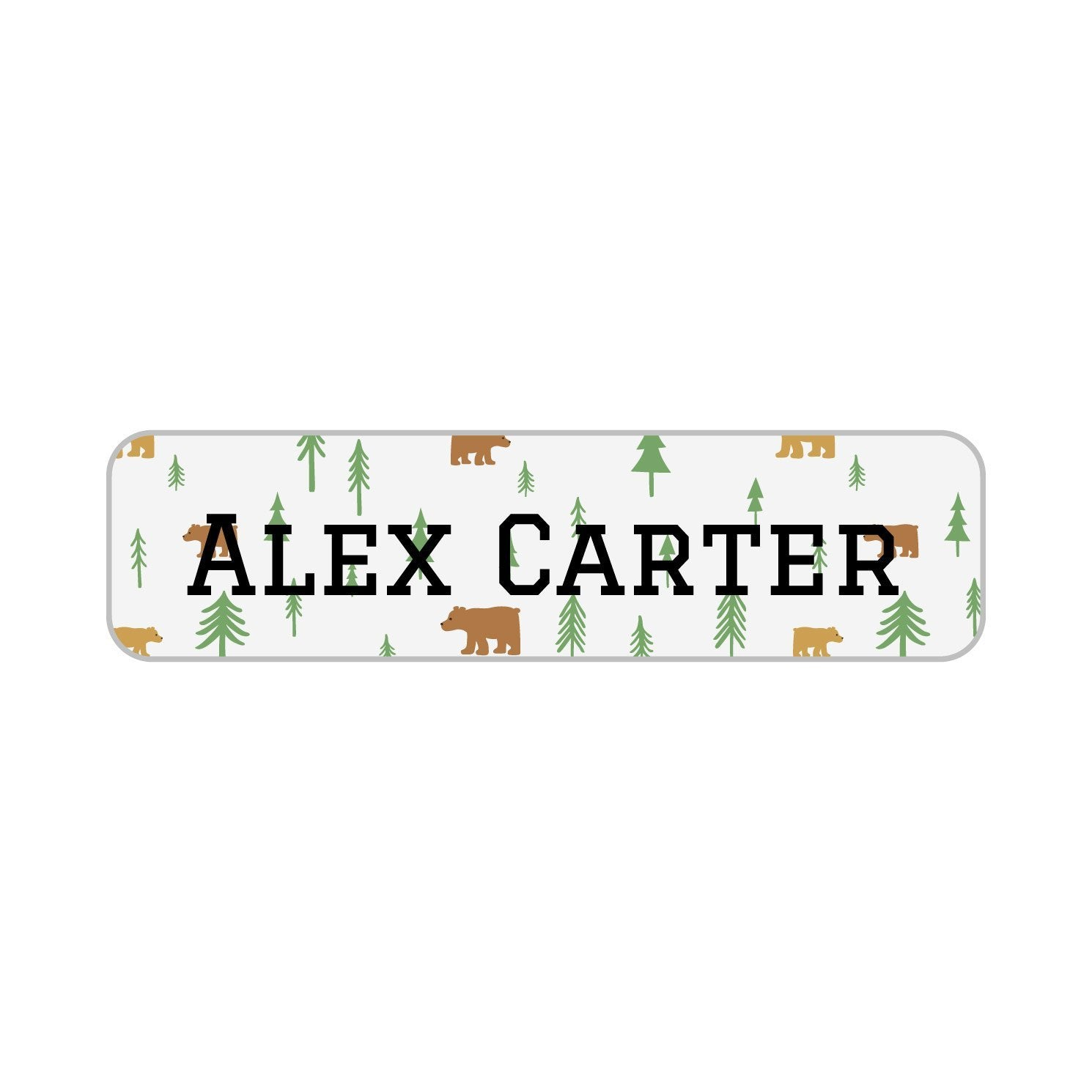 kids name tags