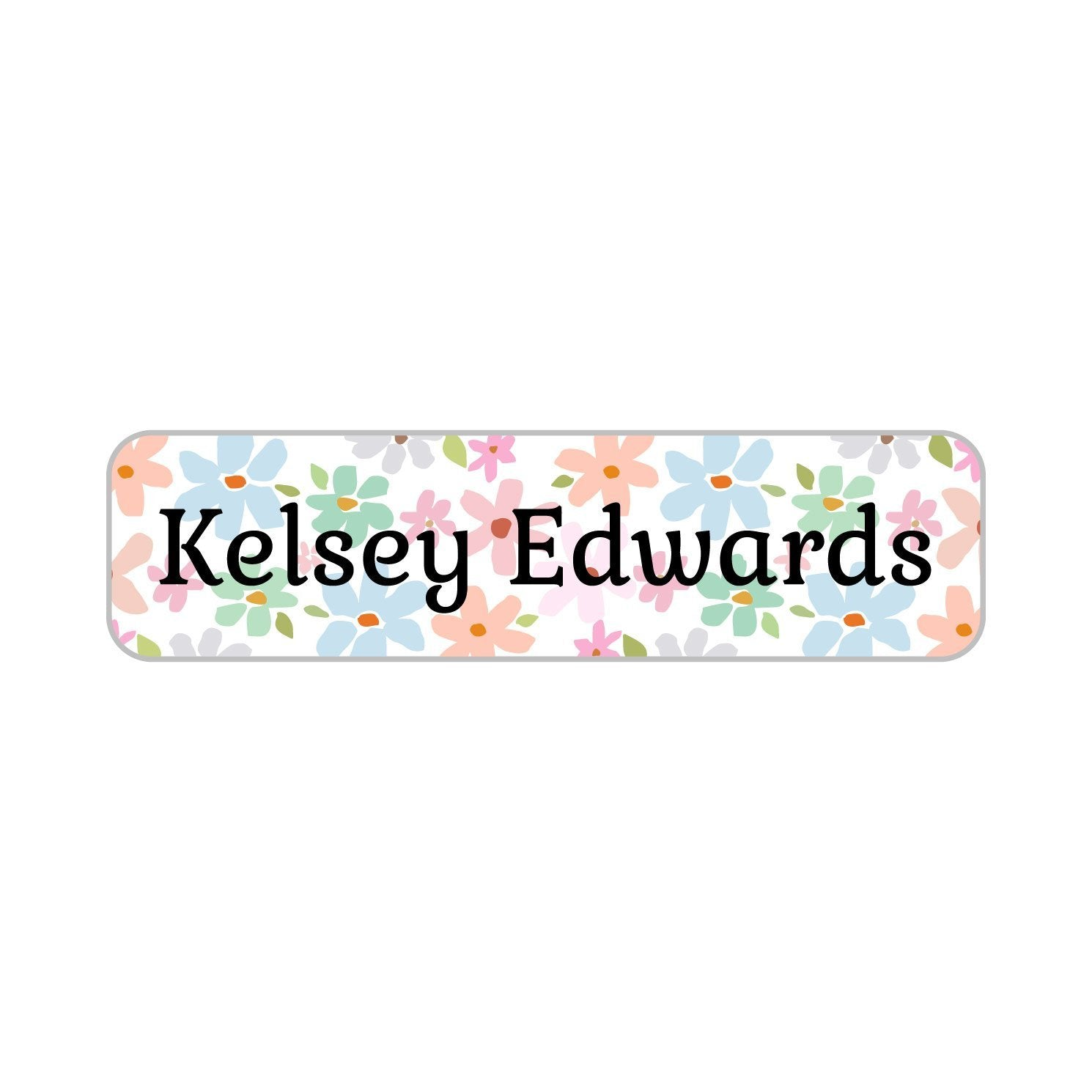 dishwasher safe personalized flower labels