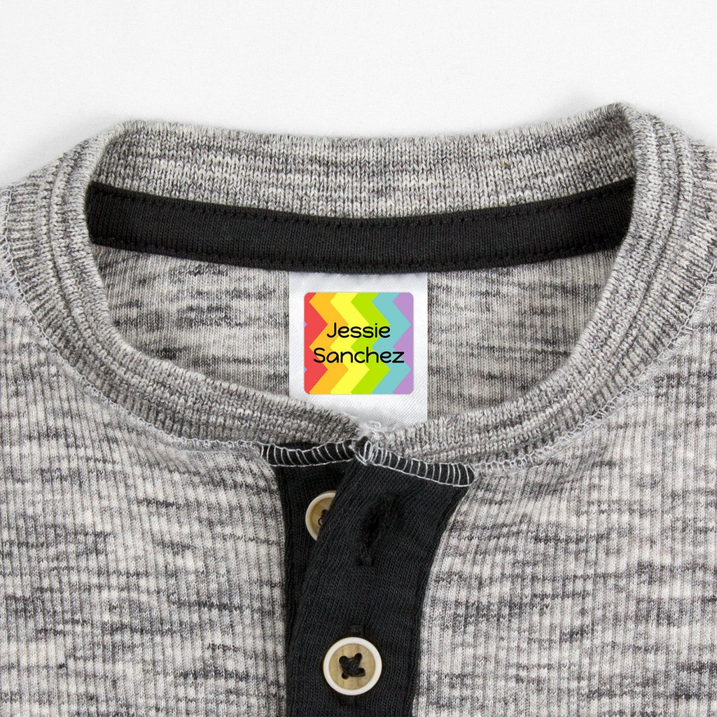 personalized clothing tags - Square